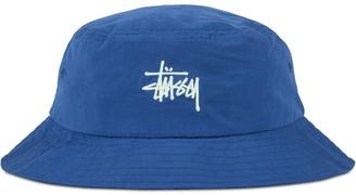 Stussy Classic Logo Bucket Hat $40 thestylecure.com