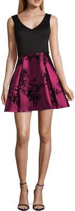 SOCIAL CODE Social Code Sleeveless Party Dress-Juniors