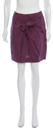 Marni Draped Mini Skirt
