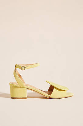 0c6822d78340 Paloma Barceló Yellow Heeled Sandals