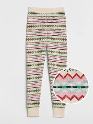 Gap Fair Isle Sweater Leggings