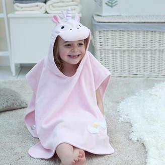 Bathing Bunnies Personalised Magic Unicorn Children Poncho 02611d69d