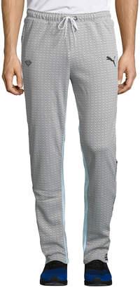 Puma Men's X Diamond Side-Snap Pants, White