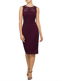 Ted Baker Verita Cut Out Detail Bodycon Dress