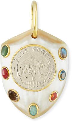 Ashley Pittman Mpenzi Light Horn, Coin & Gem Pendant Enhancer