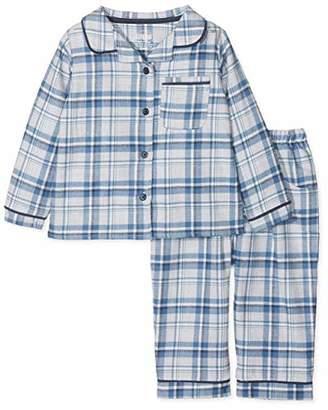Mamas and Papas Baby Boys' Blue Check Pyjamas Sets, Sfs, 18-24 Months