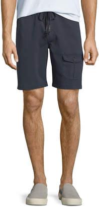 Michael Bastian Men's Garment-Dyed Flap-Pocket Shorts