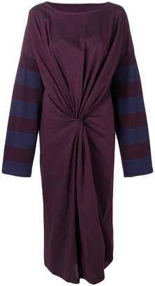 MM6 MAISON MARGIELA contrast stripe T-shirt dress