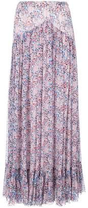 Philosophy di Lorenzo Serafini star print flared skirt
