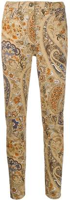 Etro patterned jeans