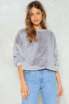 Nasty Gal Total Softy Faux Fur Sweater