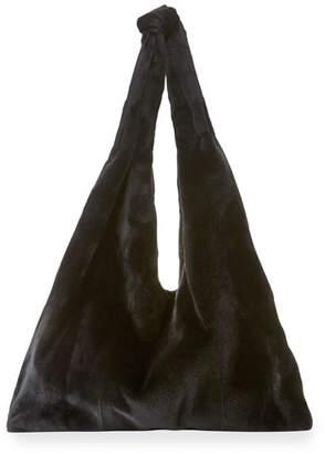 The Row Bindle Mink Fur Hobo Bag