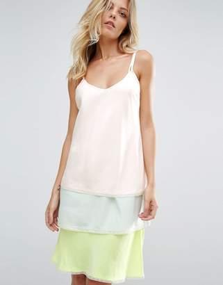BOSS ORANGE BOSS Casual Neon Triple Layer Detachable Dress