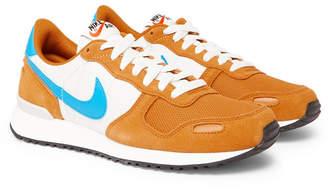 Nike Air Vortex Suede, Nylon And Mesh Sneakers - Orange