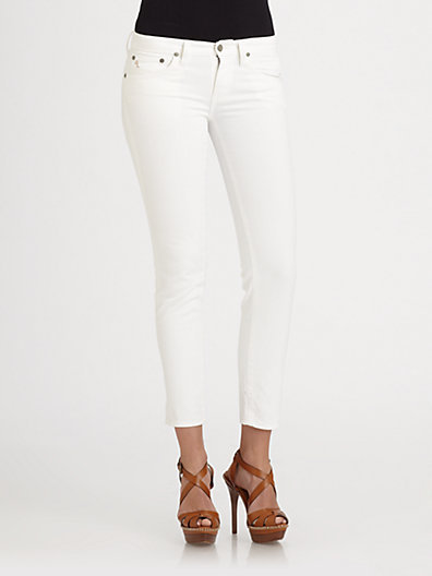 Ralph Lauren Blue Label Caine Skinny Cropped Jeans