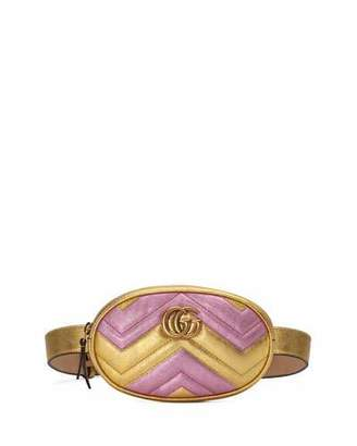 6f6db5609d27ae Gucci GG Marmont Matelasse Leather Belt Bag