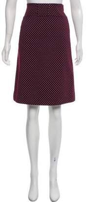 Tory Burch Patterned Print Knee-Length Skirt