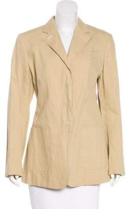 Agnona Notch-Lapel Long Sleeve Blazer