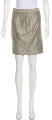 Kaufman Franco KAUFMANFRANCO Metallic Pencil Skirt