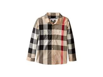 Burberry Two-Pocket Check Shirt (Little Kids/Big Kids)