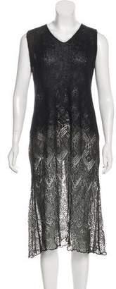 Dries Van Noten Embellished Knit Dress