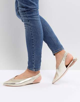 Faith Annike Pointed Flat Shoes