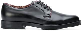 Gucci lace up derby shoes