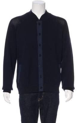 Giorgio Armani Wool & Silk Cardigan