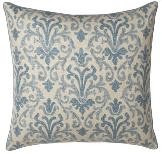 "Jane Wilner Designs Queen Jacobean Floral Duvet Cover, 90"" x 96"""