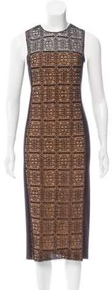 Akris Lace Paneled Dress