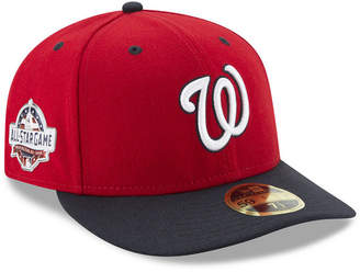 New Era Washington Nationals Washington All Star Game Patch Low Profile 59FIFTY Fitted Cap