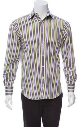 Etro Stripe Dress Shirt