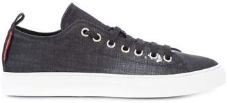 DSQUARED2 distressed denim Tennis Club sneakers