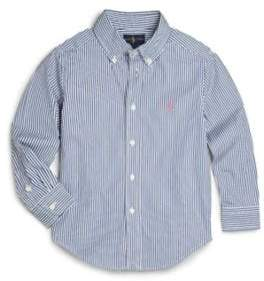 Ralph Lauren Toddler's Striped Cotton Poplin Dress Shirt
