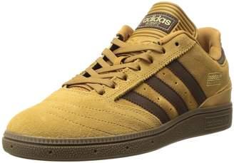 adidas Men's Busenitz Fashion Sneakers, core Black, FTWR White, Gold met