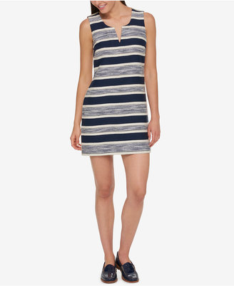 Tommy Hilfiger Striped Shift Dress, Only at Macy's $129.50 thestylecure.com