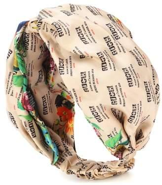 Gucci Invite silk twill headband