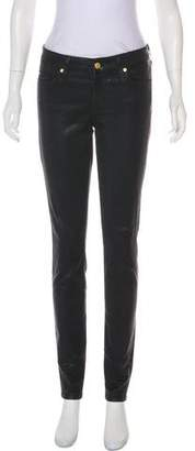 7 For All Mankind Seven Mid-Rise Skinny Pants