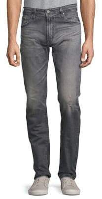 AG Jeans Distressed Slim-Fit Jeans
