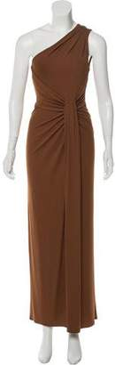 Michael Kors One Shoulder Maxi Dress