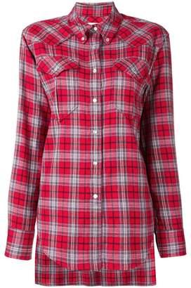Etoile Isabel Marant divana check shirt