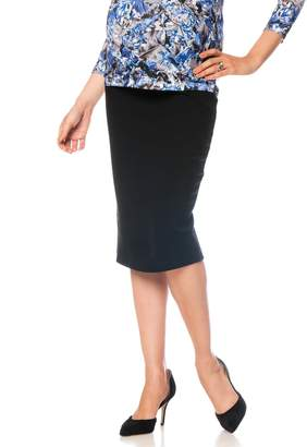 Isabella Oliver Pea Collection Pull On Maternity Pencil Skirt