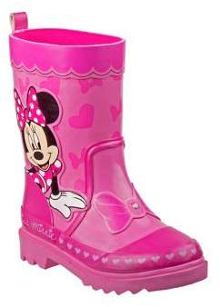 Disney Girl's Minnie Mouse Rain Boots