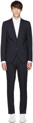 Tiger of Sweden Navy Nedvin Suit $800 thestylecure.com