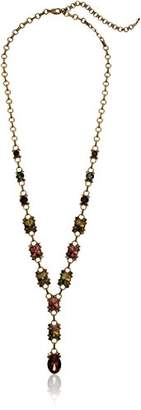 Sorrelli Mahogany Eyelet Y-Shaped Necklace