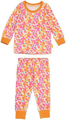 Masala Baby Spotted Organic Cotton Fitted Two-Piece Pajamas