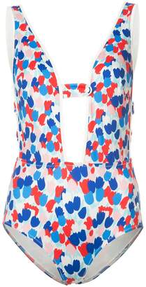 Morgan Lane tulip print Natalie one-piece