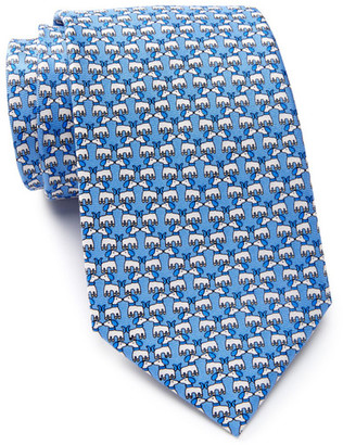 TailorByrd Silk Kissing Dog Tie $49.50 thestylecure.com