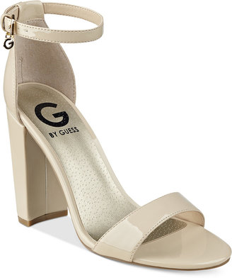 G by GUESS Shantel Two-Piece Sandals $49 thestylecure.com