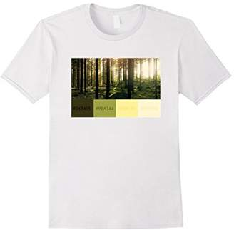 Graphic Designer Color Swatch Hexadecimal Shirt